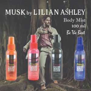 Musk By Lilian Ashley Body Mist 100ml : Adventure Parfum Original Untuk Pria Murah Berkualitas