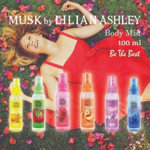 Musk By Lilian Ashley Body Mist 100ml : Motion Parfum Original Untuk Wanita Murah Berkualitas